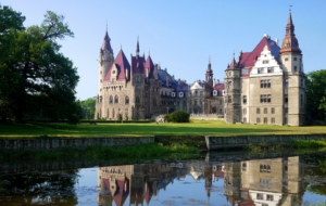 Moszna Castle Wallpapers HD