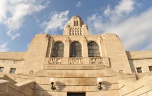 Nebraska State Capitol Background