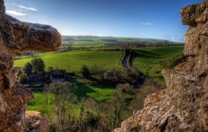 Pictures Of Corfe Castle