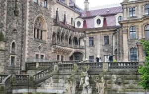 Pictures Of Moszna Castle