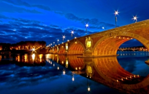 Pont Neuf, Toulouse Background