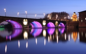 Pont Neuf, Toulouse Desktop Wallpaper