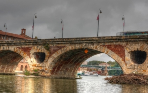 Pont Neuf, Toulouse Download Free Backgrounds HD