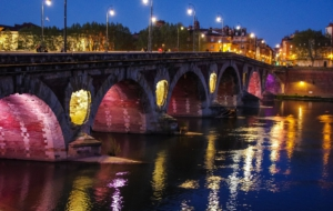 Pont Neuf, Toulouse For Desktop Background