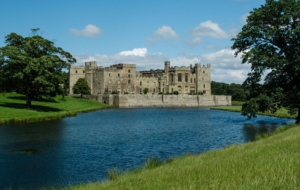 Raby Castle Background