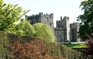 Raby Castle HD Background