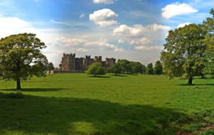 Raby Castle For Desktop Background