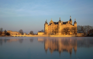 Schwerin Palace Background