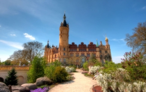 Schwerin Palace Computer Backgrounds