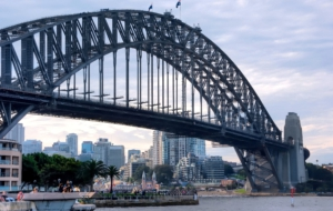 Sydney Harbour Bridge HD Background