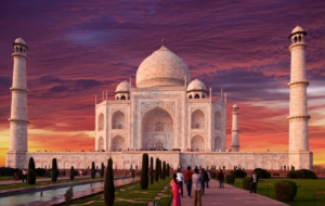 Taj Mahal HD Background