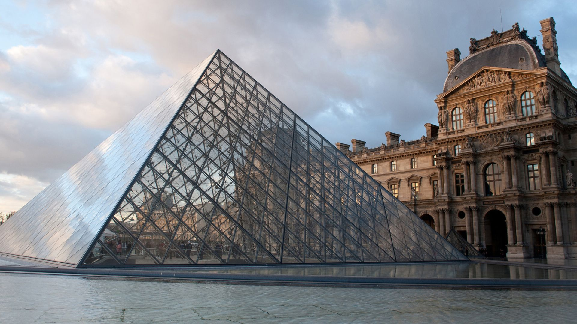 The louvre wallpapers backgrounds - Louvre architekt ...