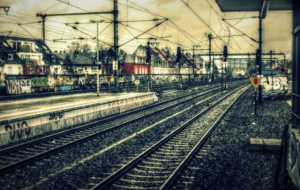 Train Station HD Desktop
