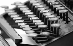 Typewriter Desktop Wallpaper