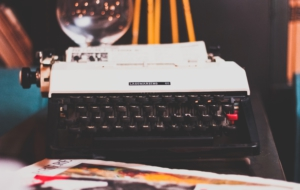 Typewriter HD Background