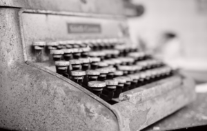 Typewriter HD Wallpaper