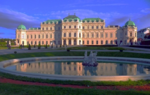 Upper Belvedere Palace High Quality Wallpapers