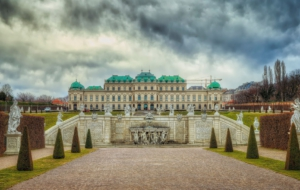 Upper Belvedere Palace For Desktop