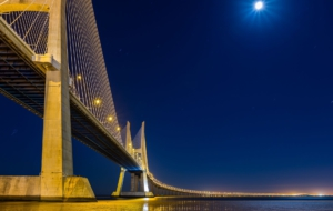 Vasco Da Gama Bridge Background