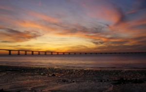 Vasco Da Gama Bridge Desktop Wallpaper