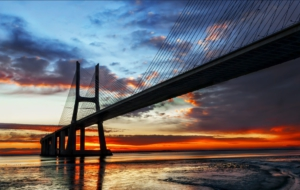 Vasco Da Gama Bridge HD Background
