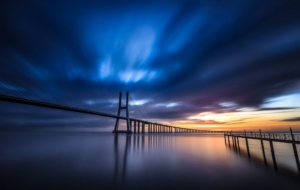 Vasco Da Gama Bridge HD Desktop