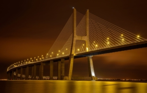 Vasco Da Gama Bridge HD Wallpaper