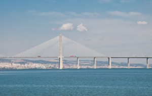 Vasco Da Gama Bridge Wallpaper For Computer