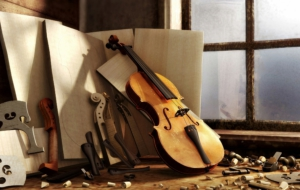Violin HD Wallpaper