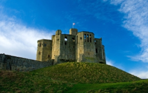Warkworth Castle 4K