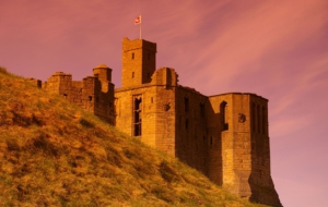 Warkworth Castle Background