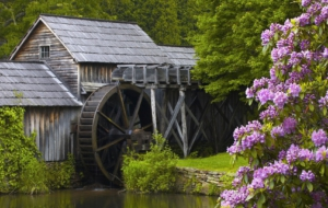 Watermill Desktop Wallpaper