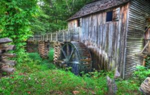Watermill Wallpaper For Computer