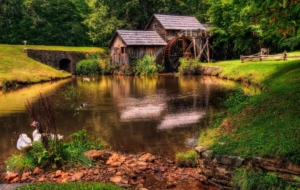 Watermill For Desktop Background