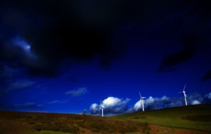 Wind Turbine Widescreen