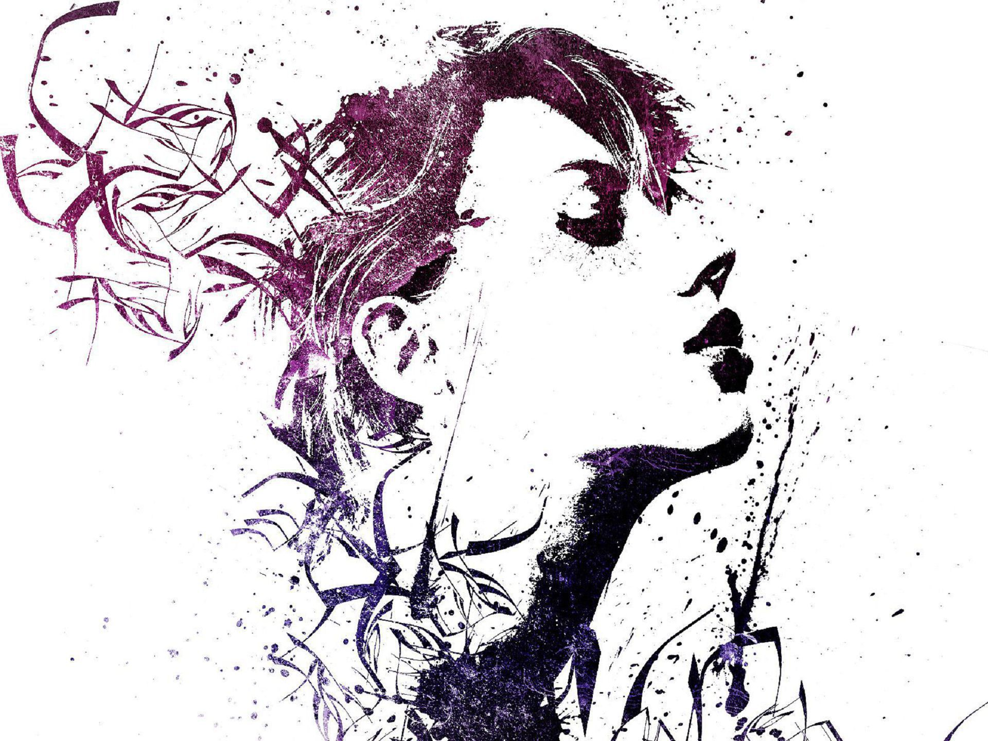 Abstract Girls Wallpapers Backgrounds