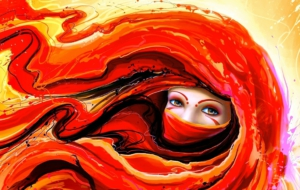 Abstract Girls Images