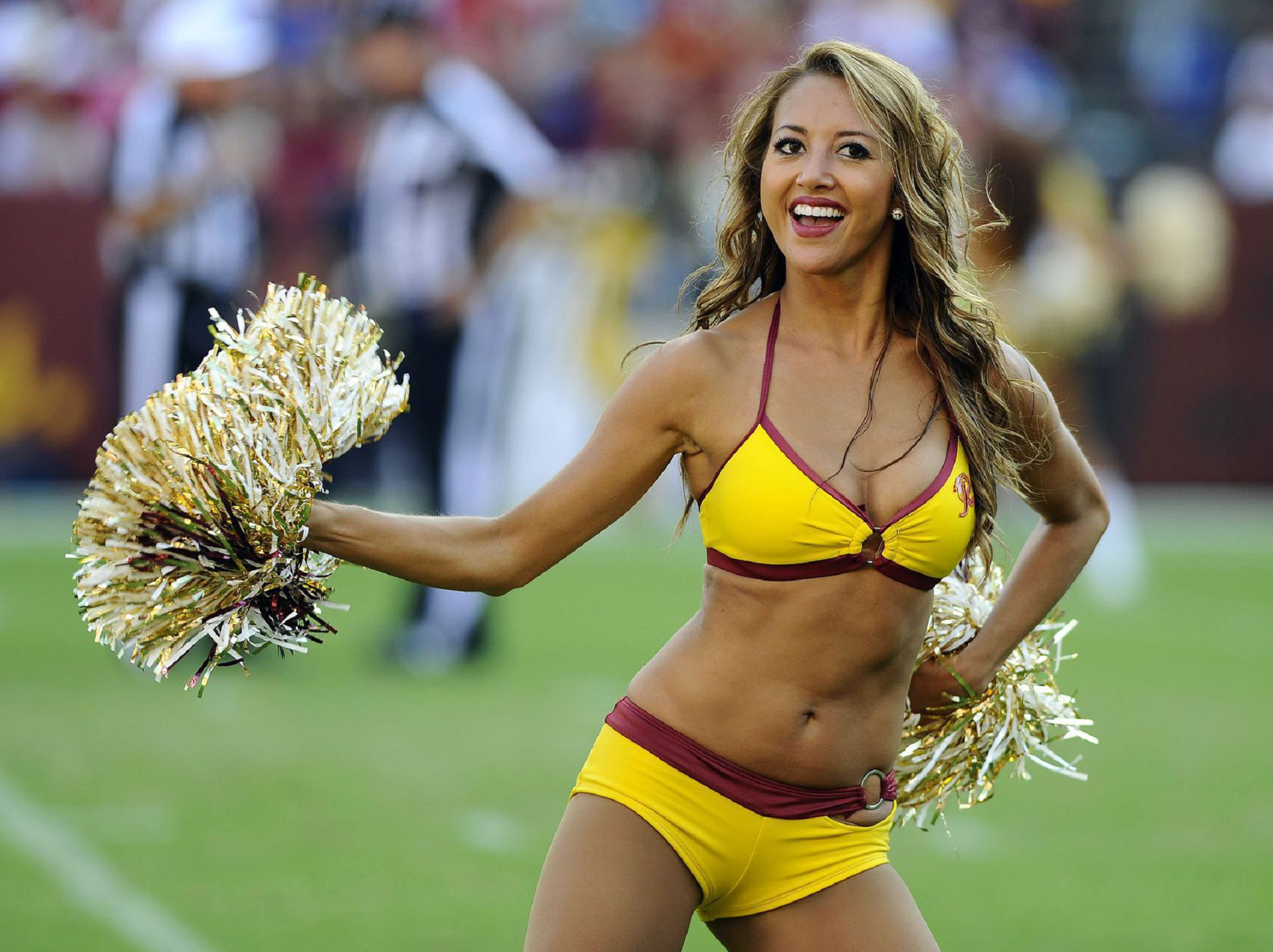 Cheerleaders college football hottest