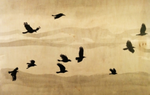 Crow Arts Background