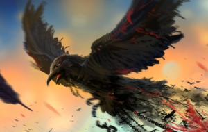 Crow Arts HD Wallpaper