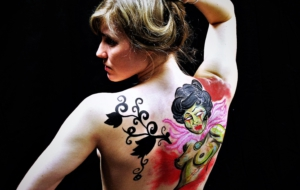 Girls Body Painting Photos