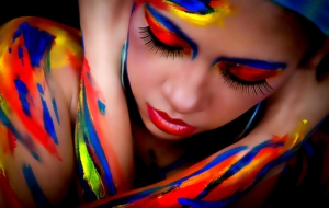 Girls Body Painting Wallpapers HD