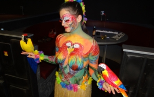 Pictures Of Girls Body Painting