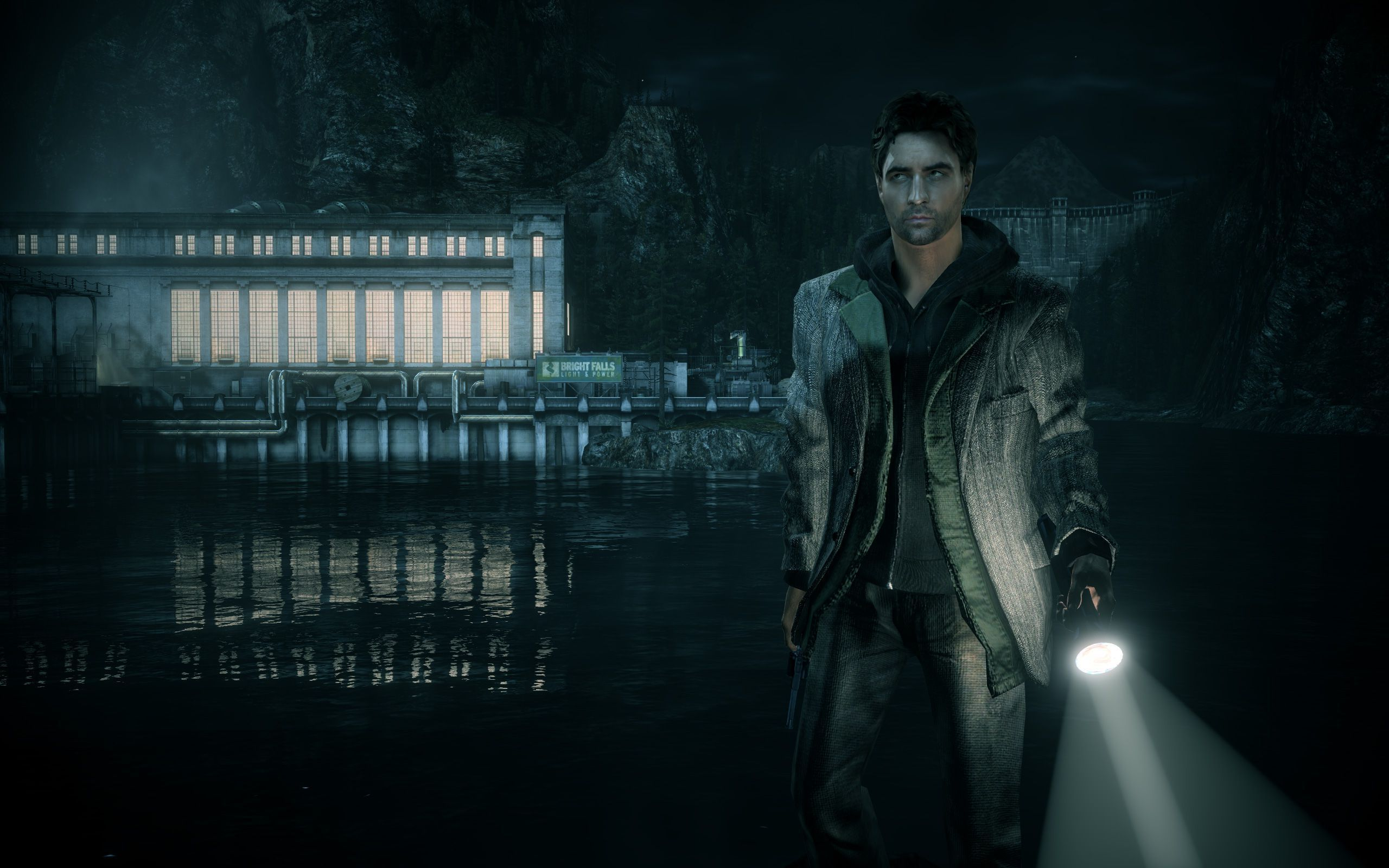 Alan Wake In High Resolution