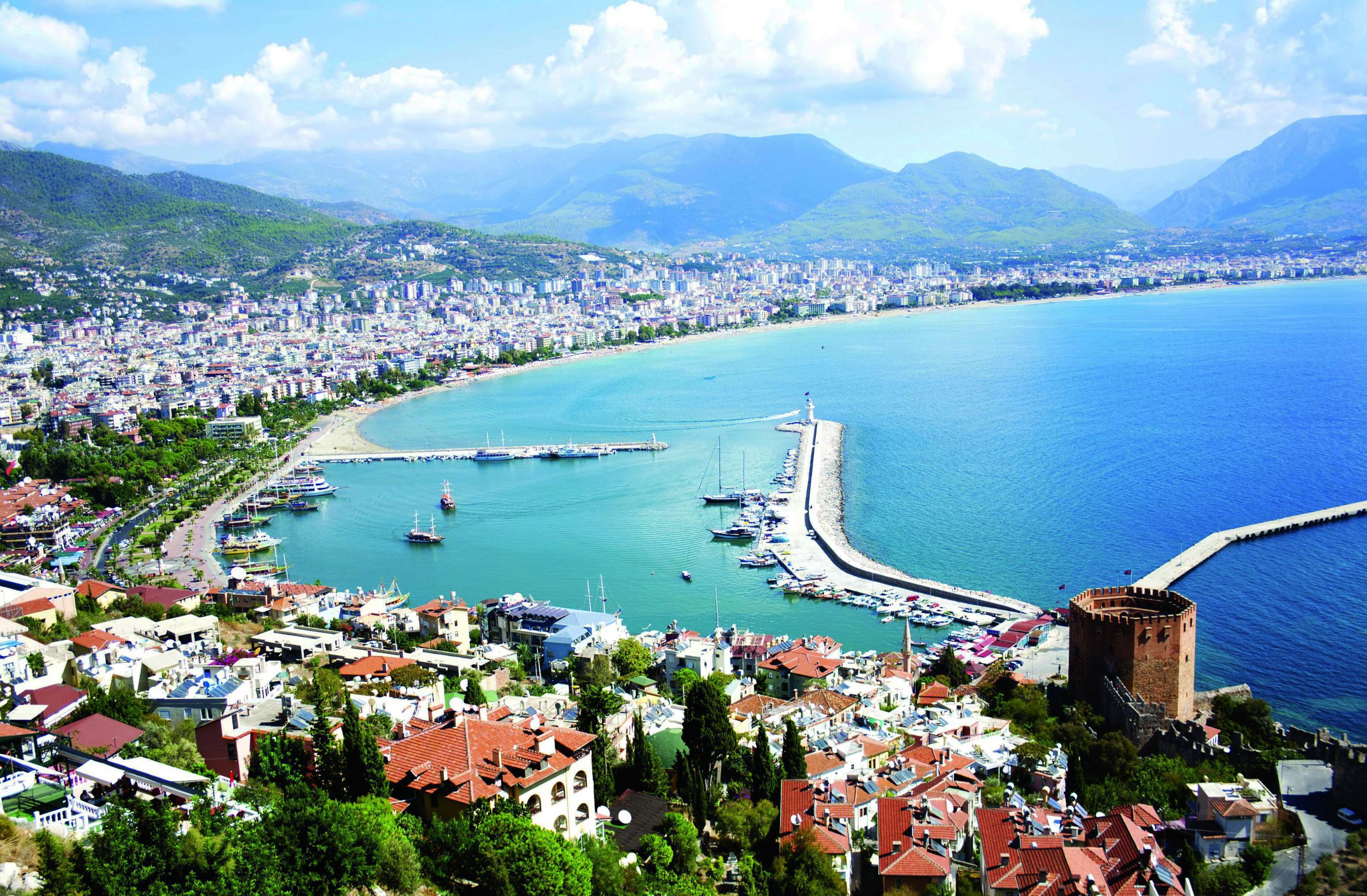 Alanya Turkey HD Background