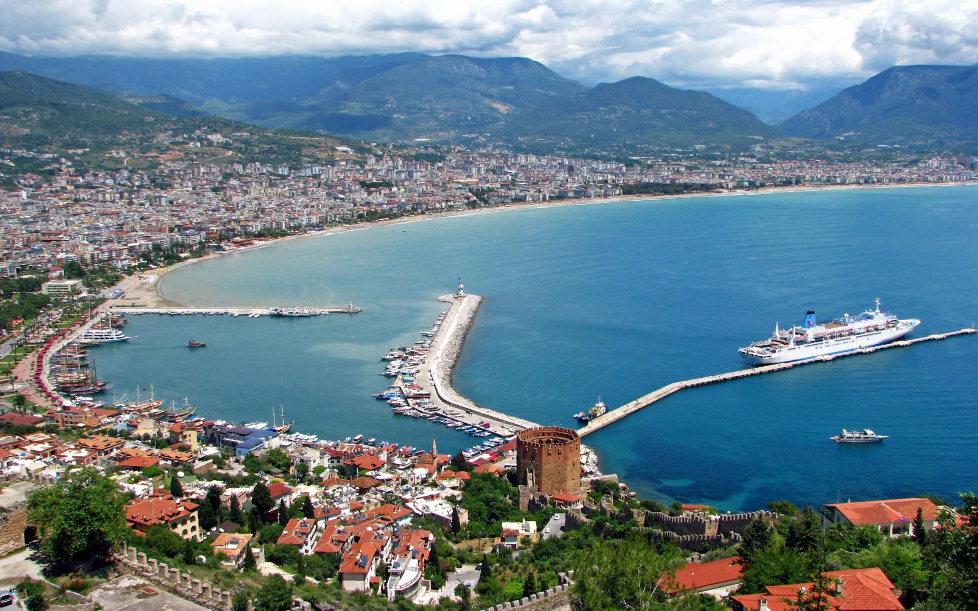 Alanya Turkey In High Resolution