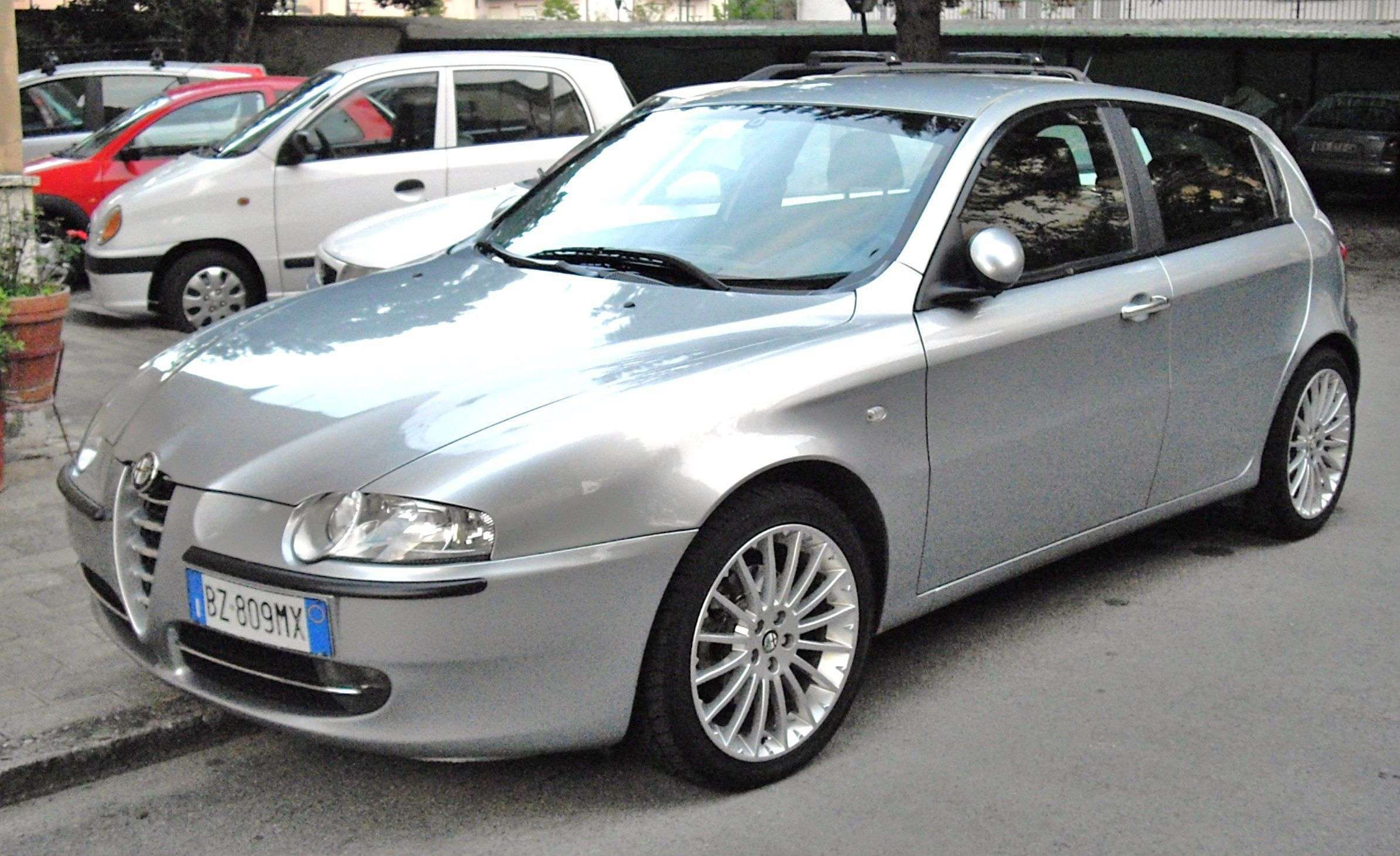alfa romeo 147 white - photo #29