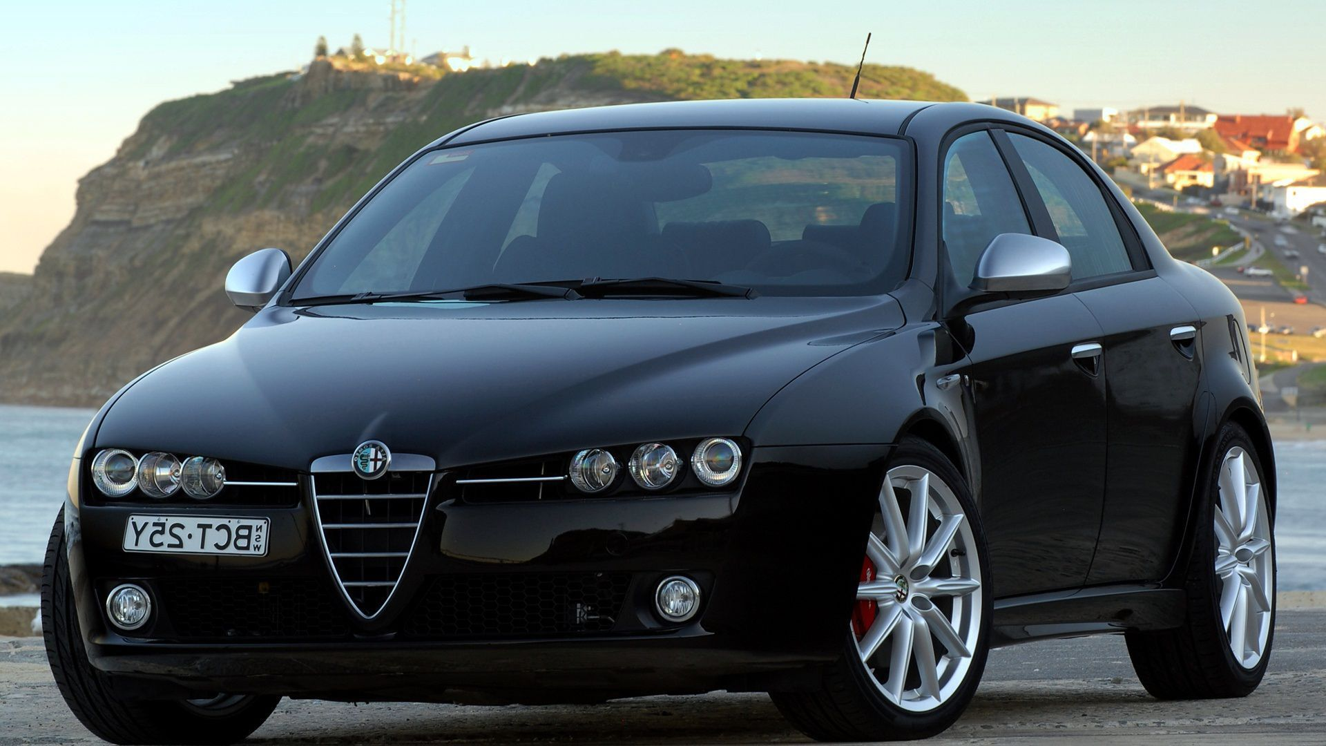 Alfa Romeo 159 Background