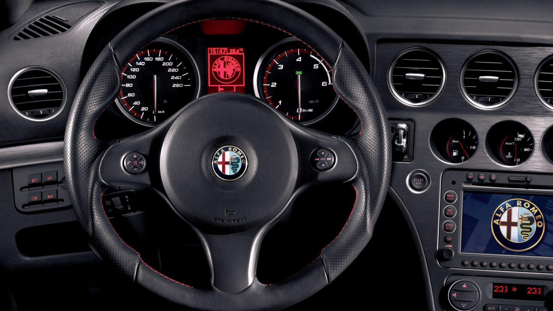 Alfa Romeo 159 Wallpaper Pack