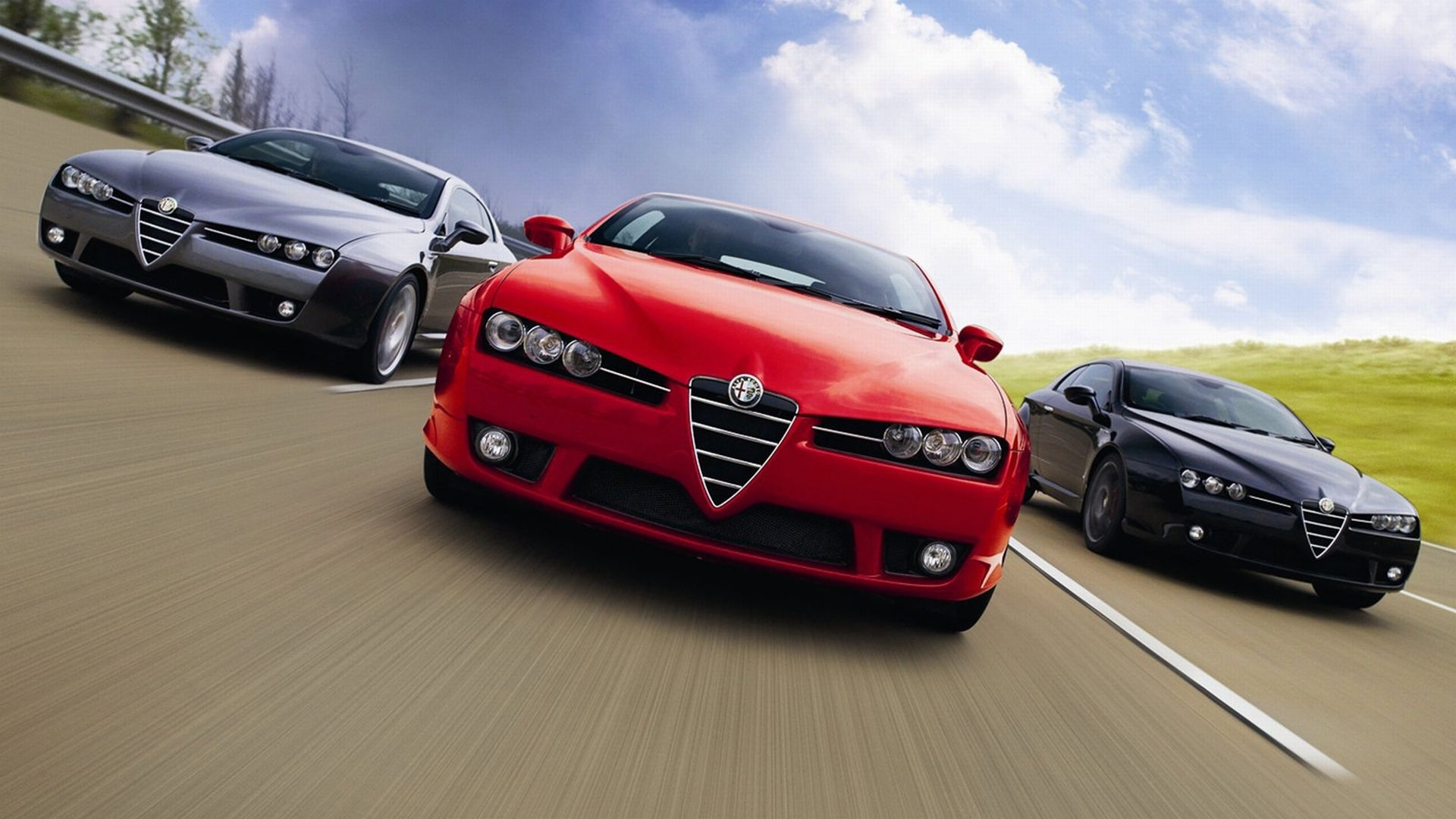 Alfa Romeo Brera Wallpapers HD